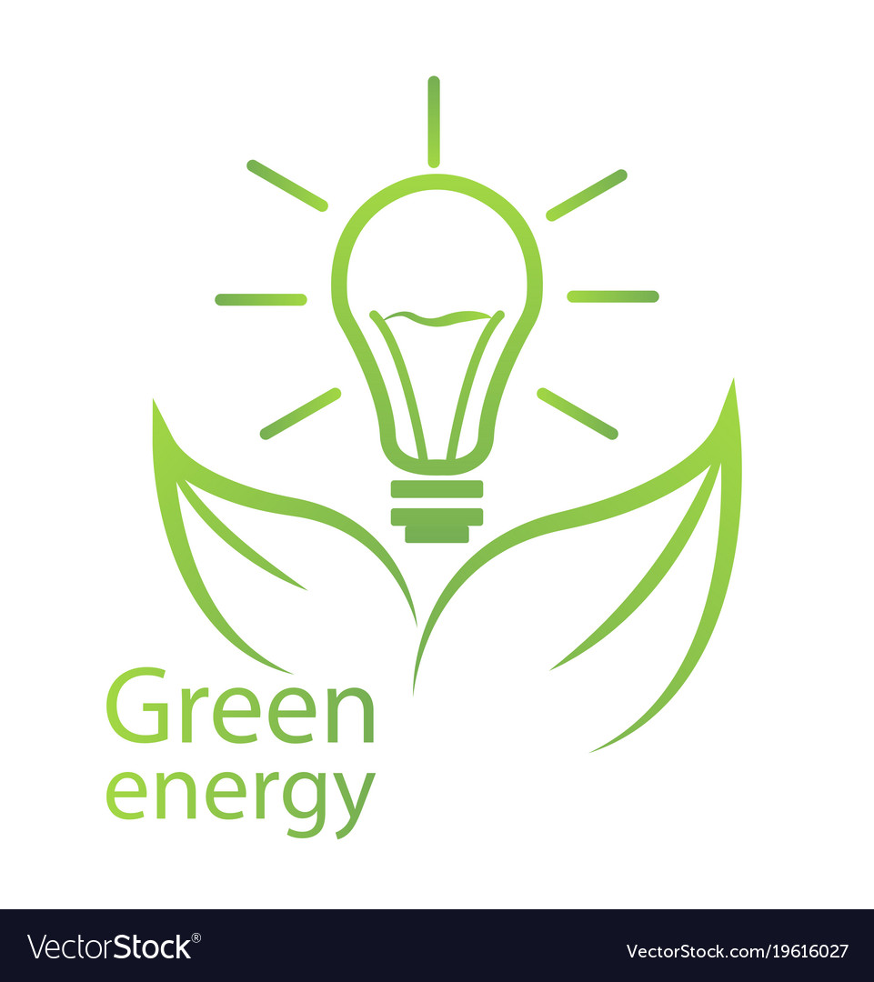 Green Energy Eco Certification Royalty Free Vector Image