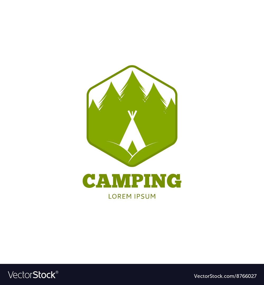 Logo of camping