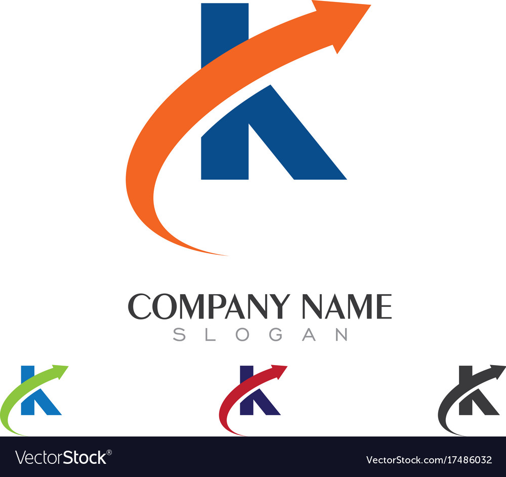 K letter logo business template royalty free vector image k letter logo business template vector image fbccfo Image collections