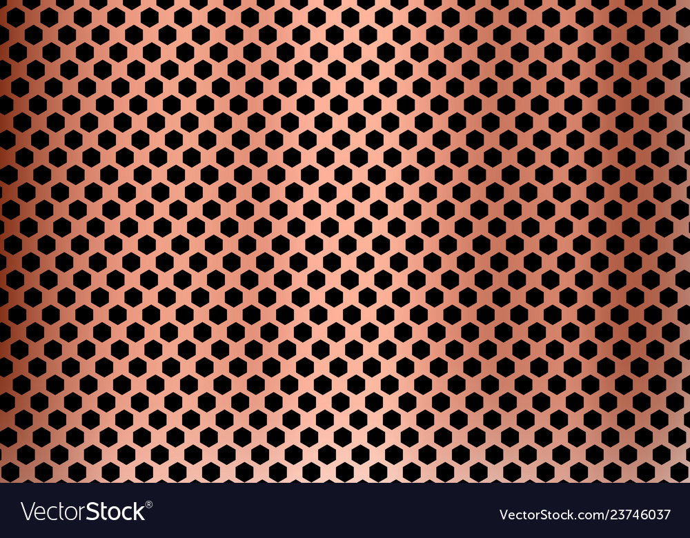 Abstract copper metal background made from