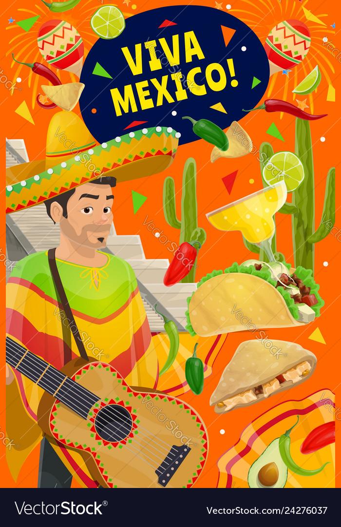 Cinco de mayo holiday viva mexico party fiesta