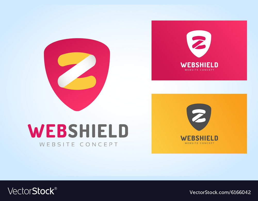 Abstract Z character logo monogram icon