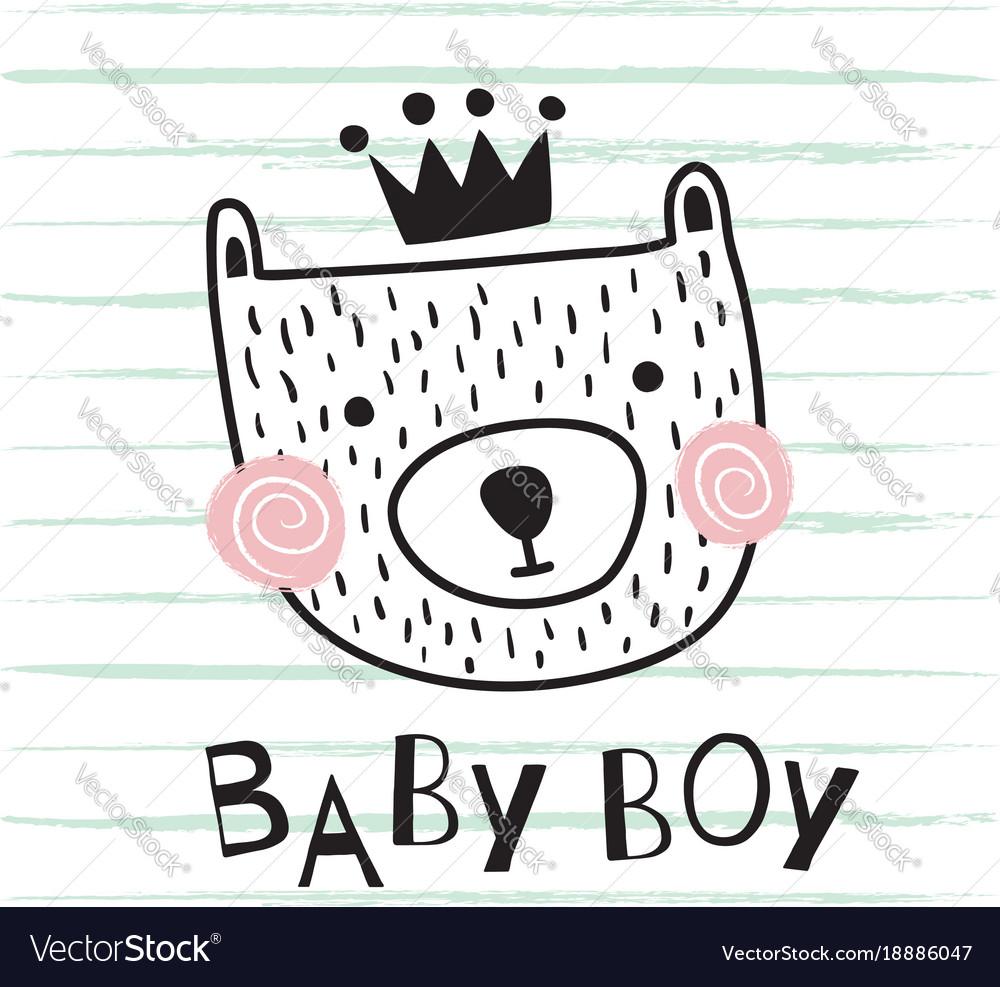Bear baby boy