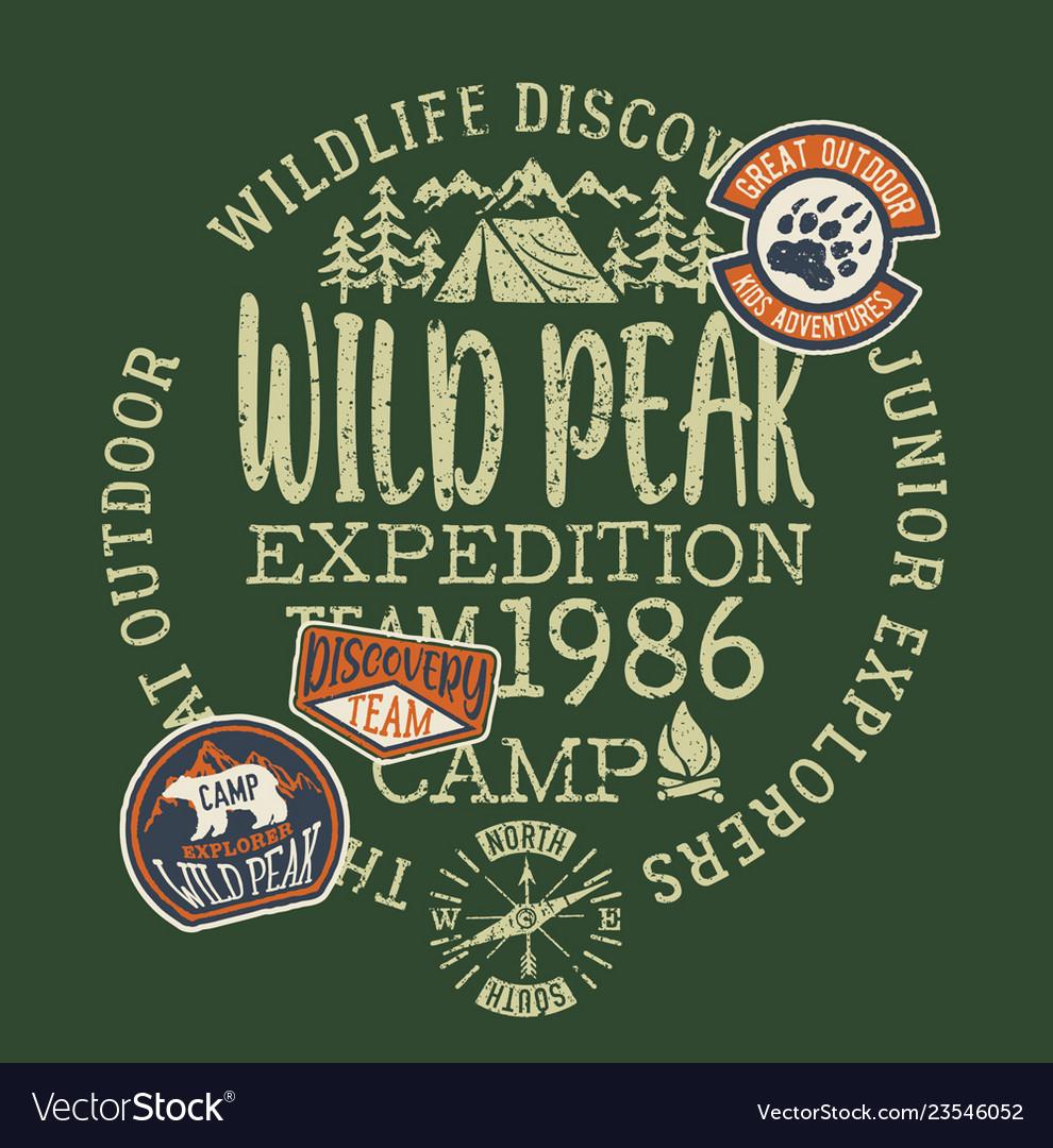 Wildlife outdoor adventure kids camp