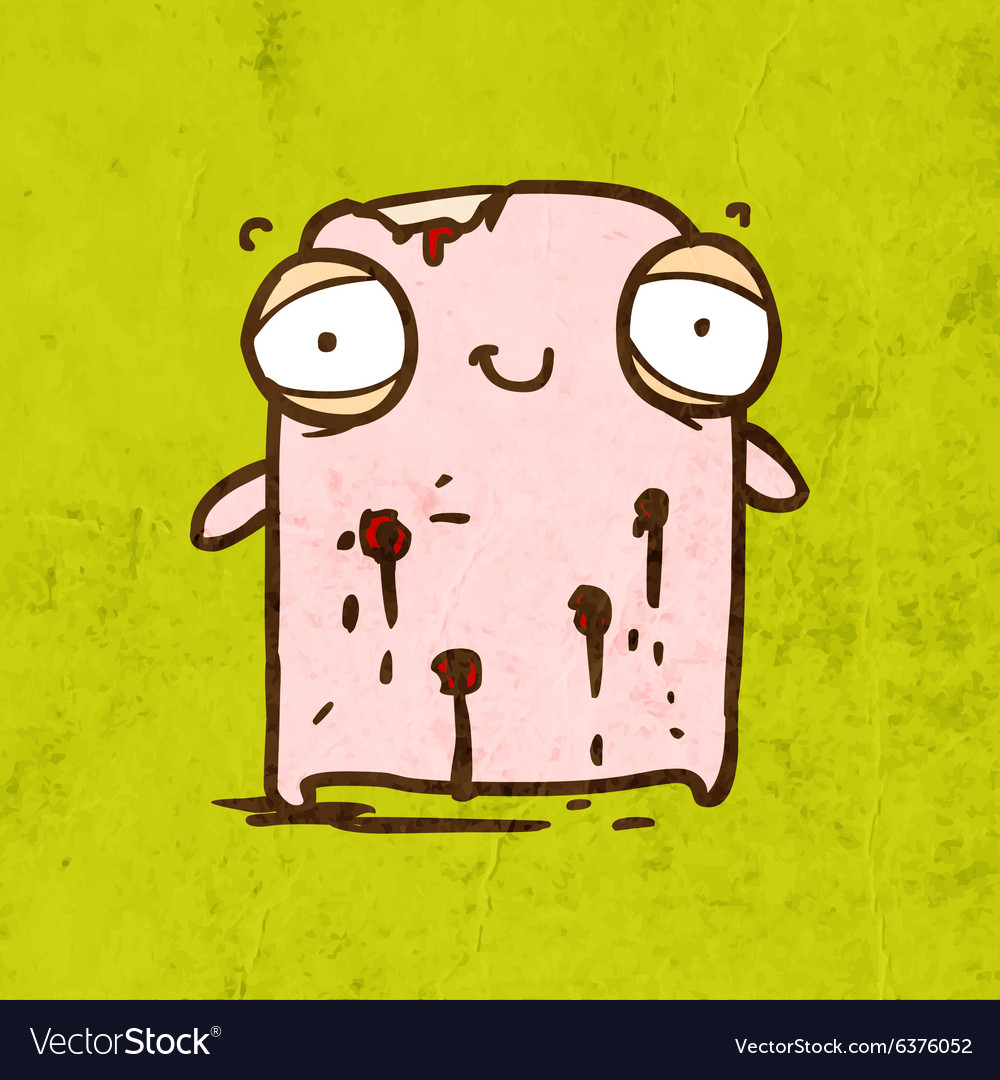 Wounded Creature Cartoon