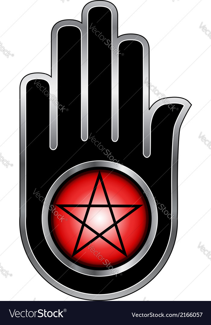 Hand with a Pentacle