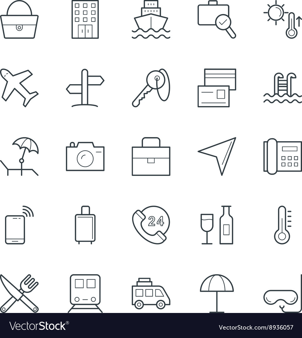 Travel Cool Icons 1
