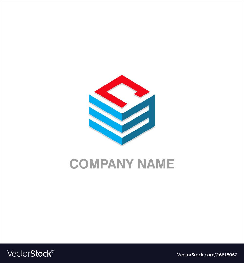 Cube line company logo