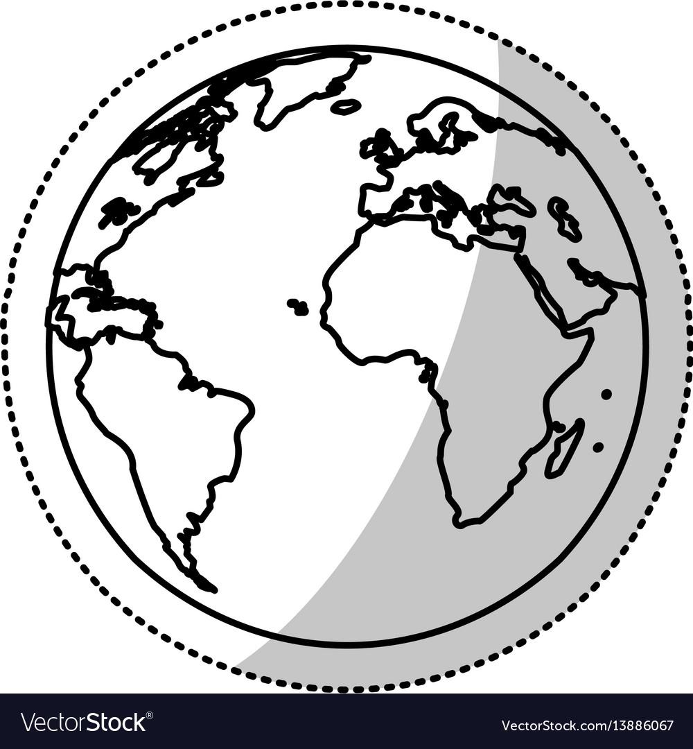Earth planet world image