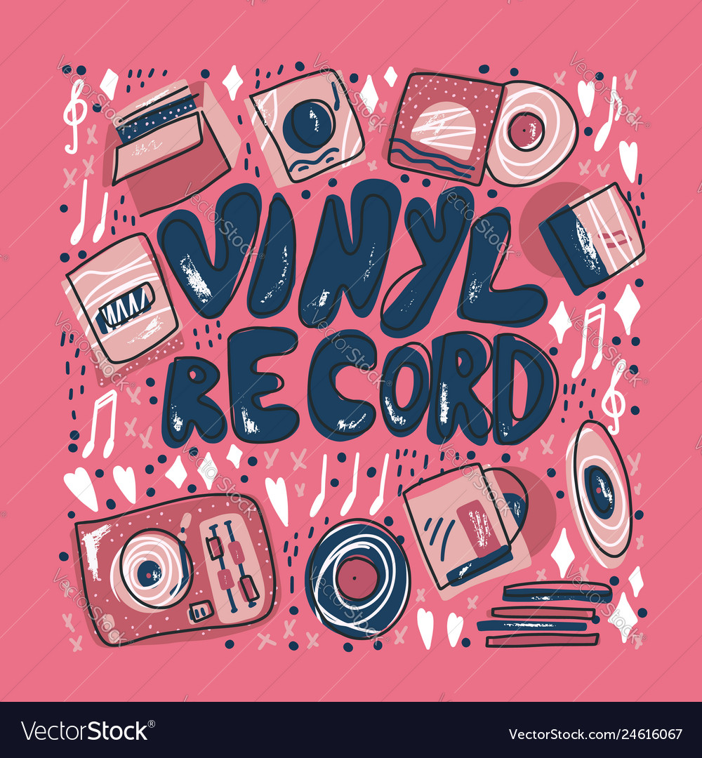 Vinyl record concept color