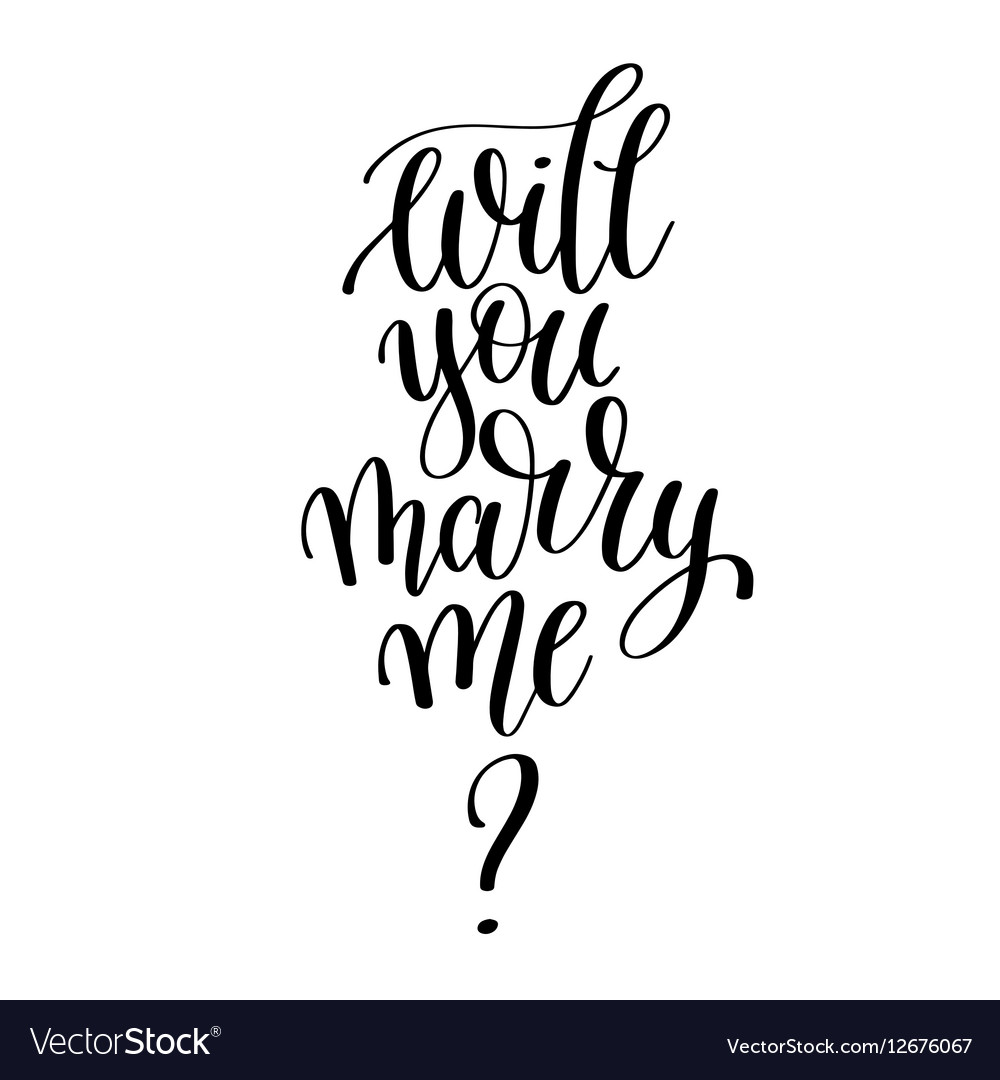 Will u marry me sms