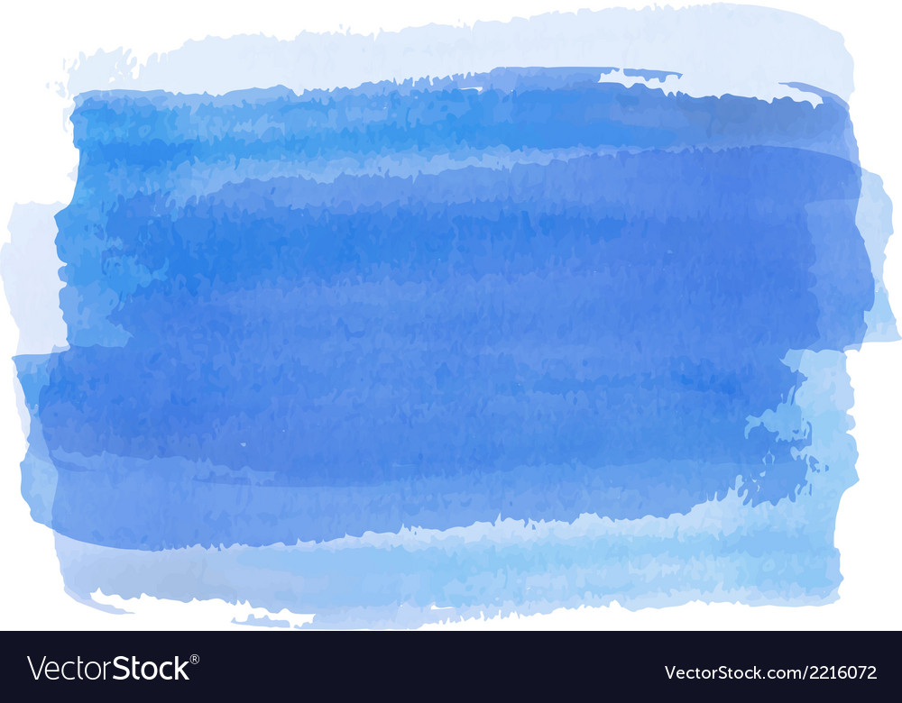 Blue watercolor background banner for your design
