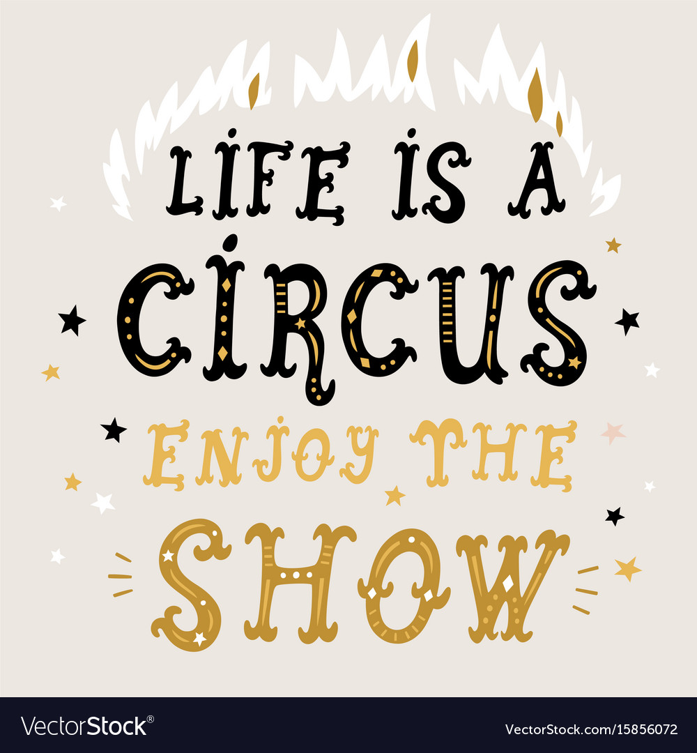 new product d17cd 2f7a2 Life is a circus poster