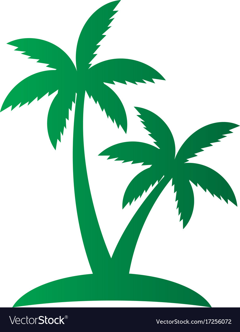 Palm Tree Sign Logo Royalty Free Vector Image Vectorstock Search results for palm tree logo vectors. vectorstock