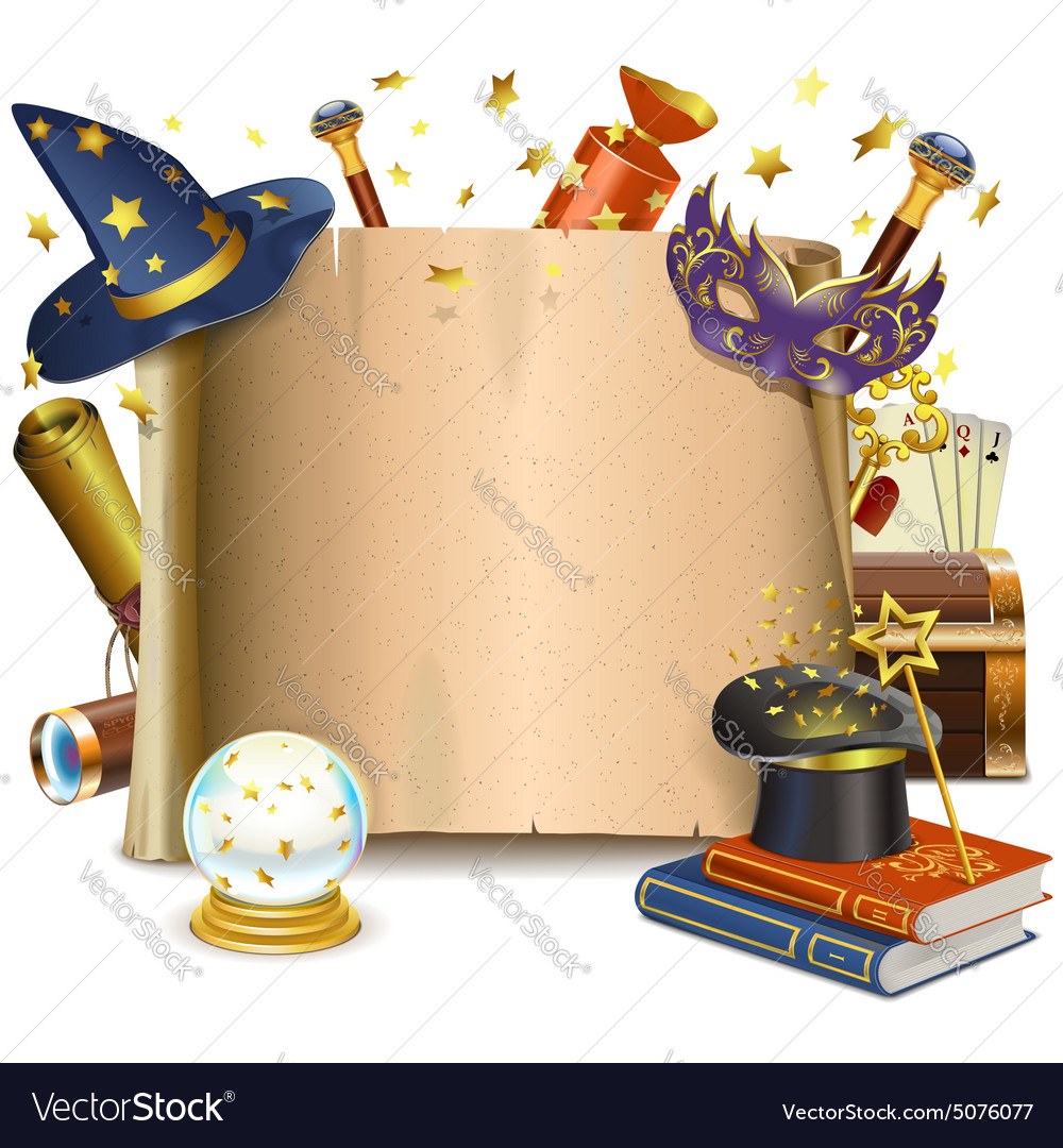 Magic Frame Royalty Free Vector Image - VectorStock