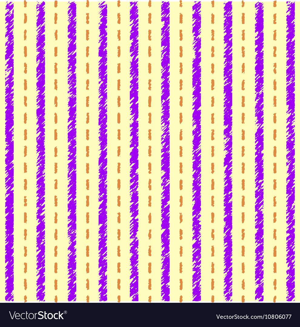 Striped yellow purple pattern