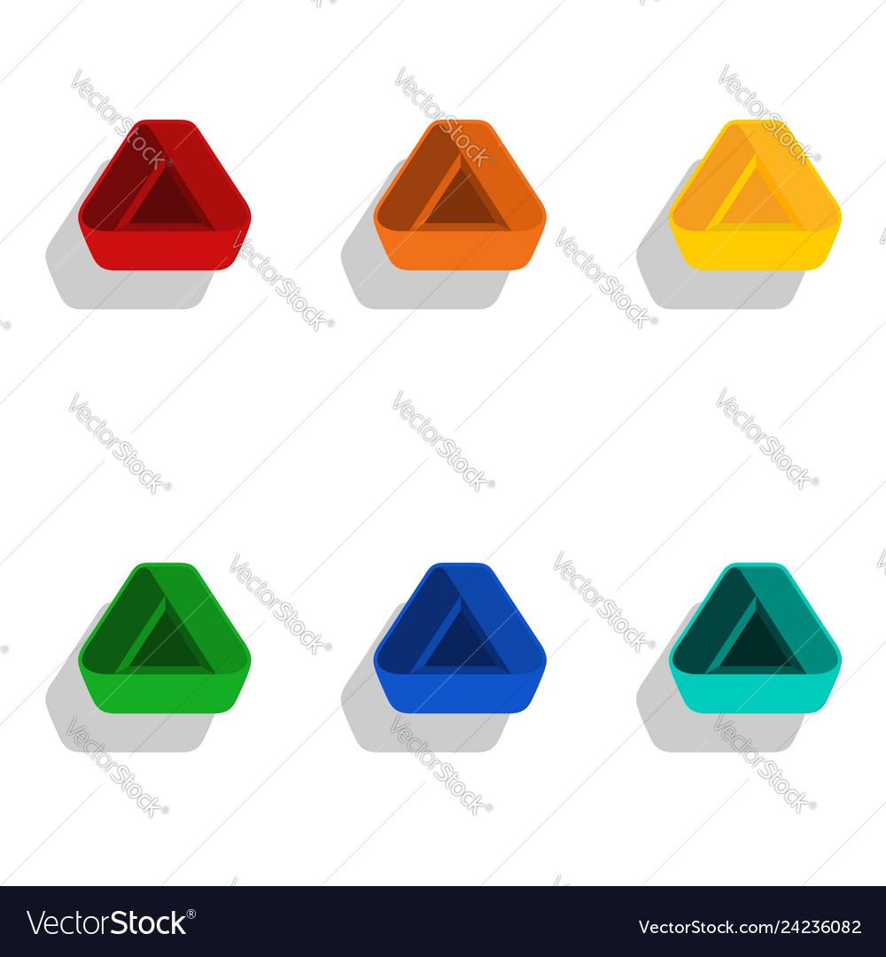 3d modern triangle