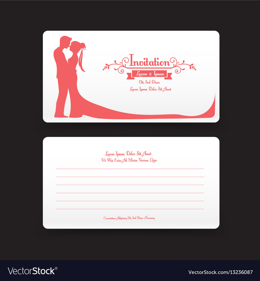 002 invitation wedding card template with