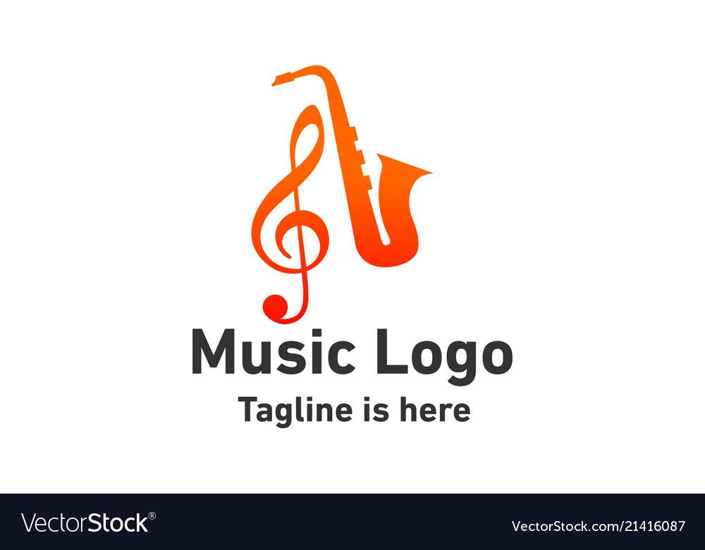 Jazz music logo