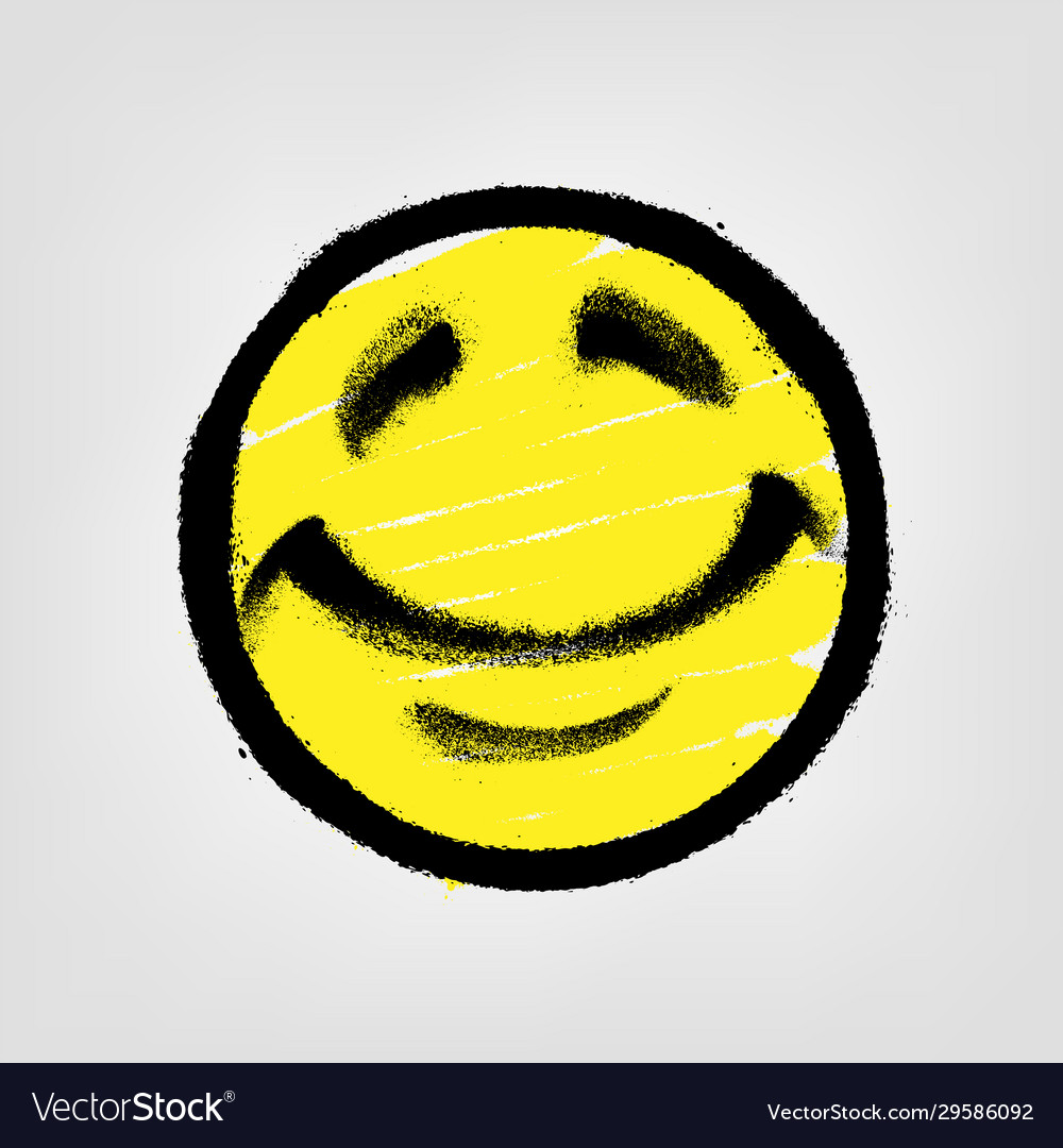 Featured image of post Dripping Smiley Face Painting