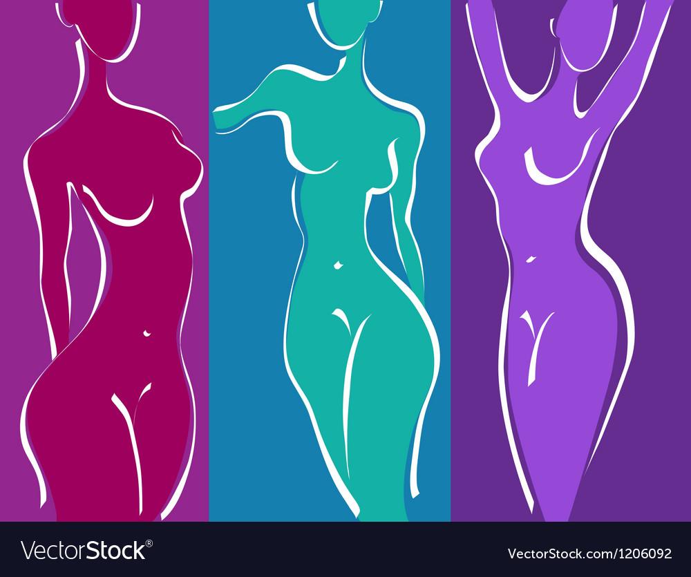оригинальные картинки абстрактной женской фигуры уральская девушка сделала