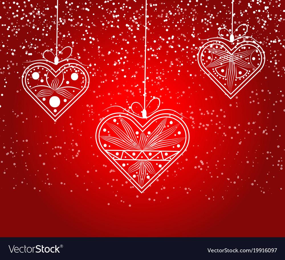 Heart love valentine card love hearts