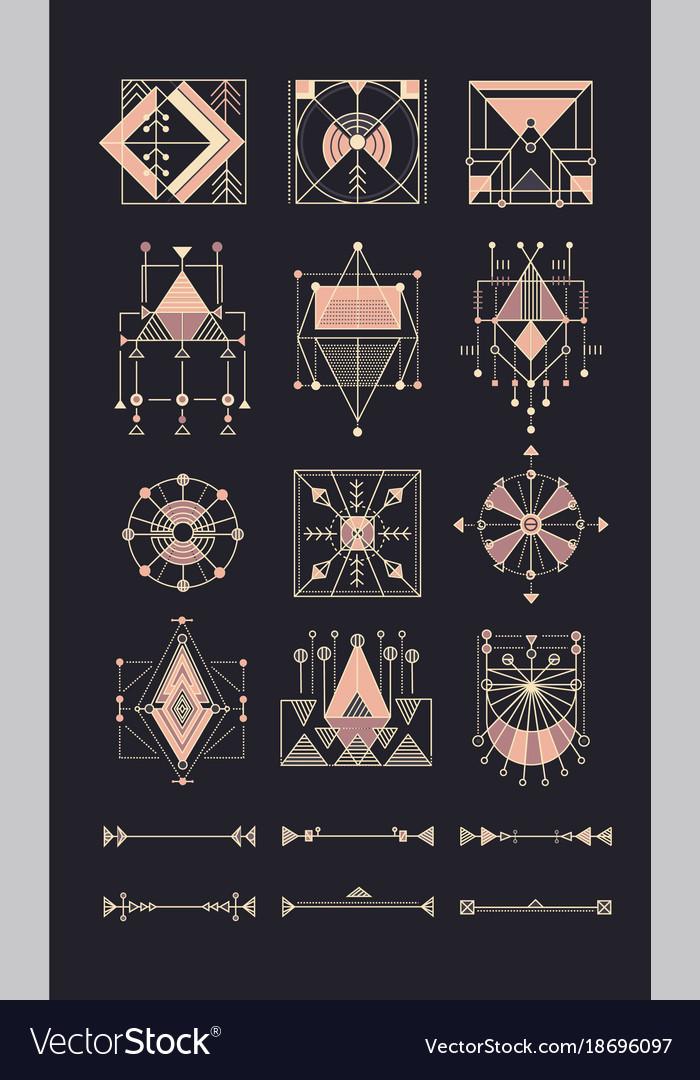 Set sacred geometry