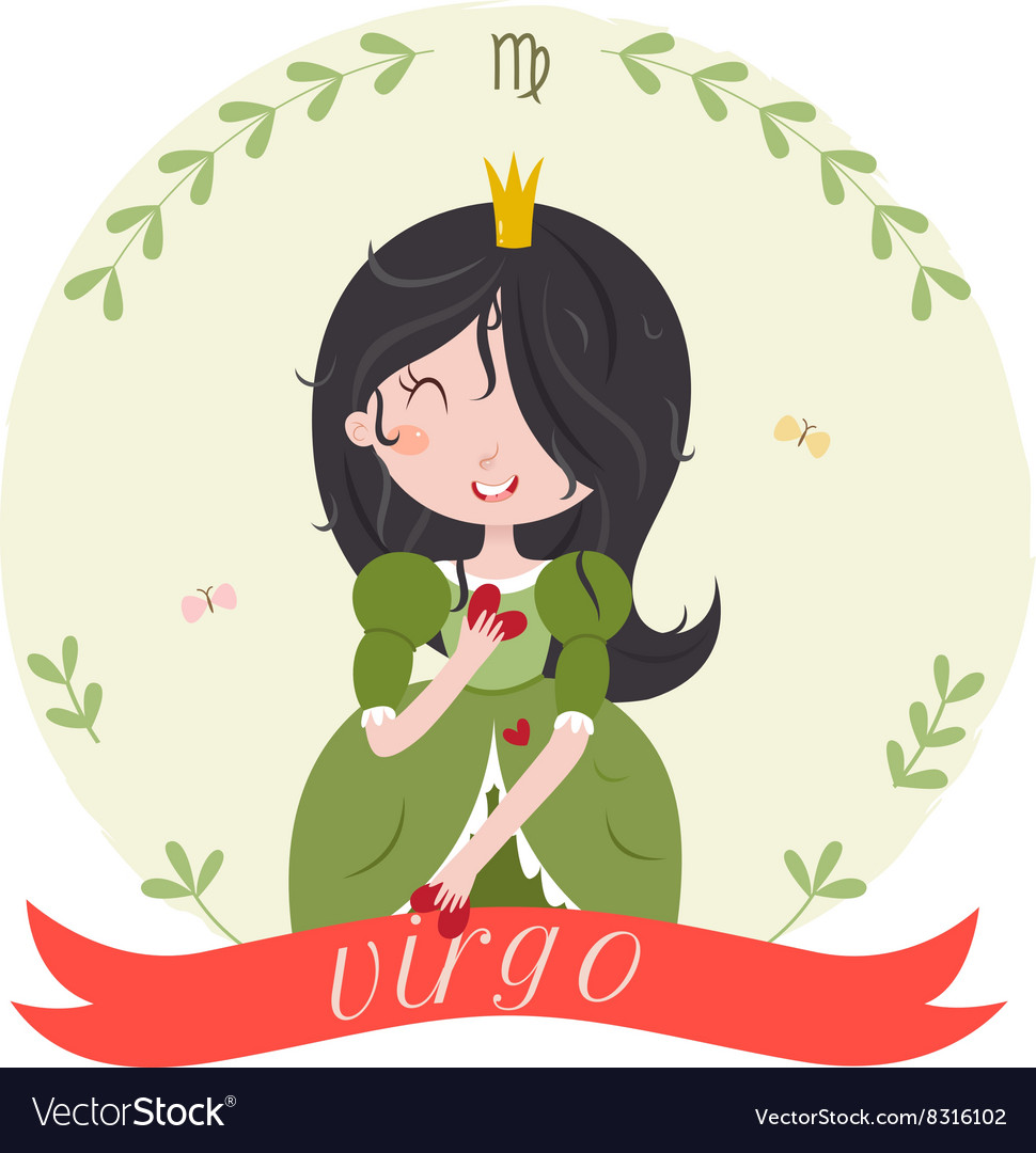 Cute zodiac sign - Virgo