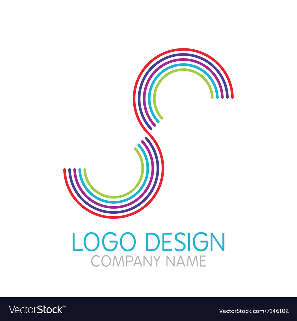 Logo design letter S