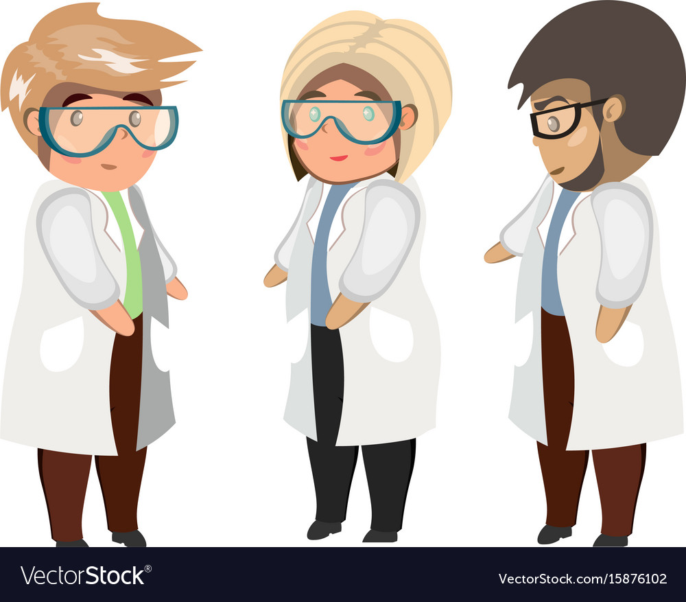 Medical team concept vector image