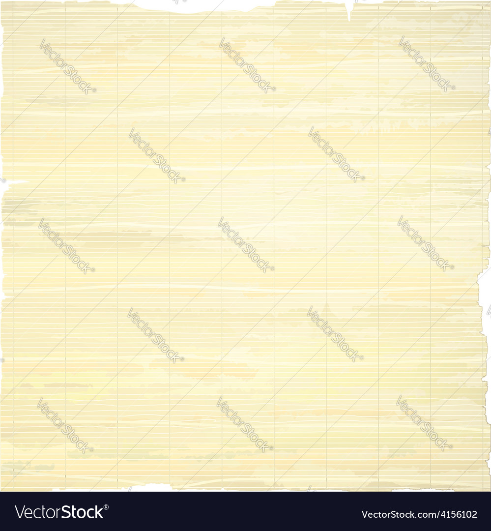 Tattered papyrus paper