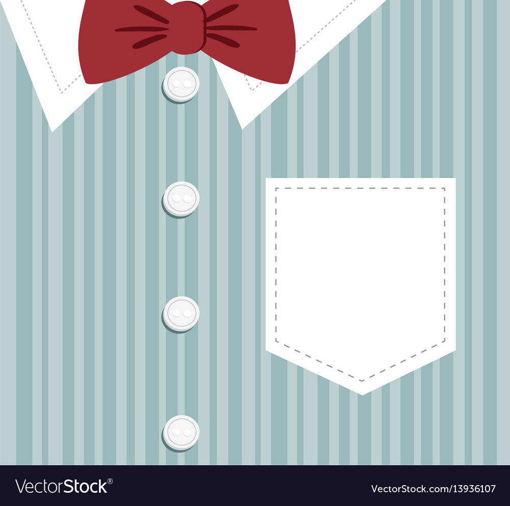 Elegant clothes background icon vector image