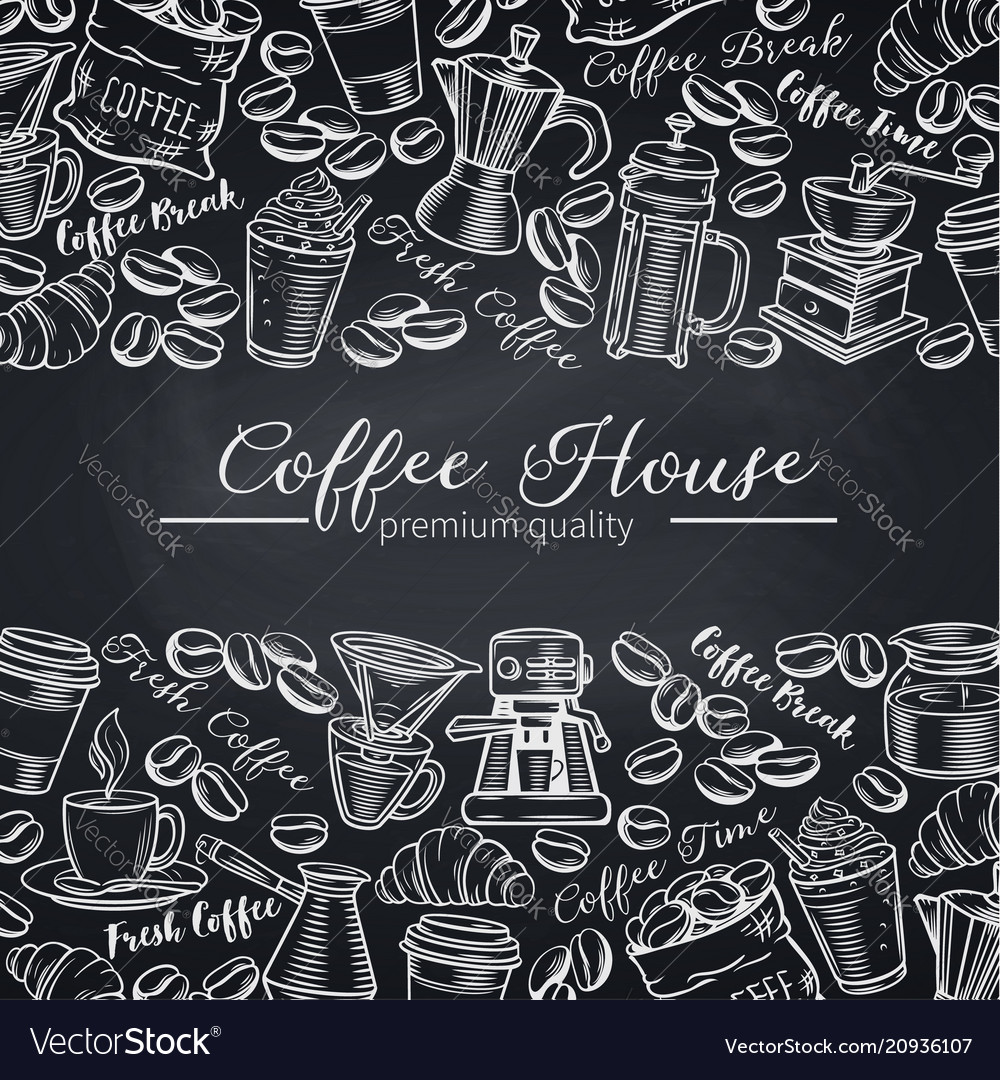 Template coffee shop page design