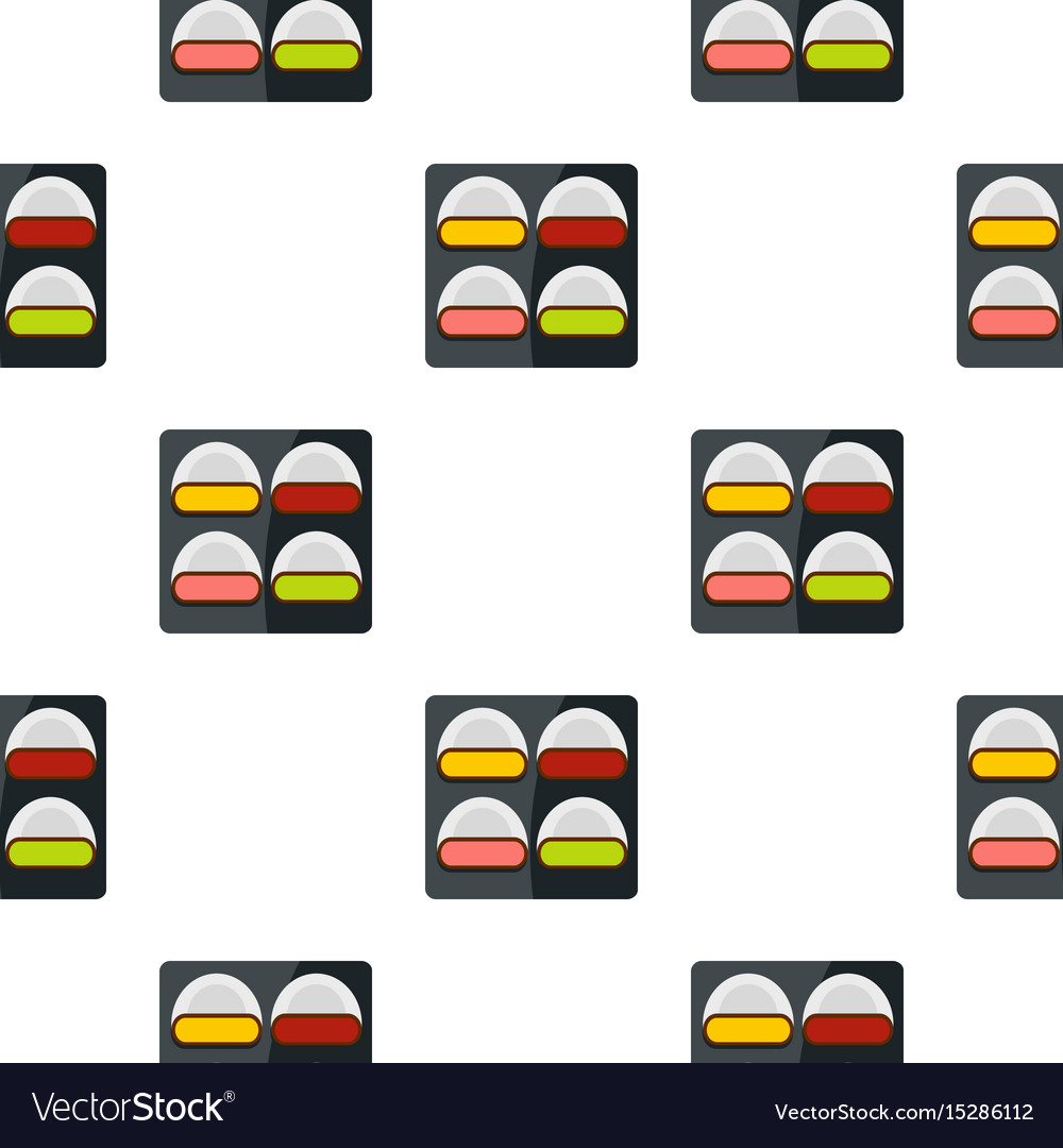 Different sushi pattern seamless