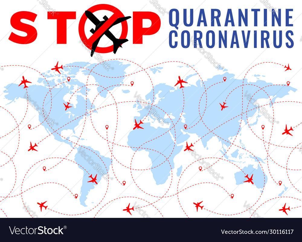 Covid19-19 quarantine coronavirus stop airplane