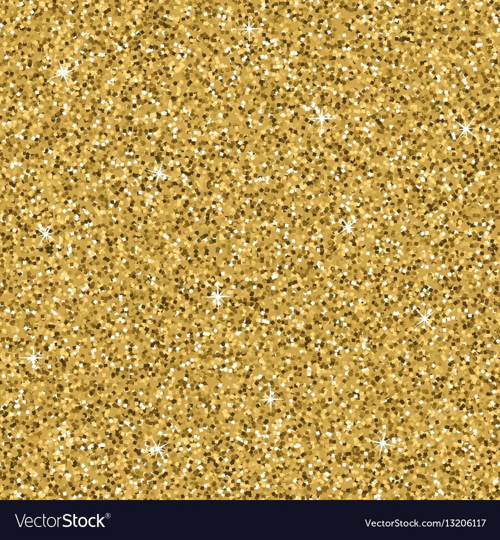 Seamless yellow gold glitter texture shimmer