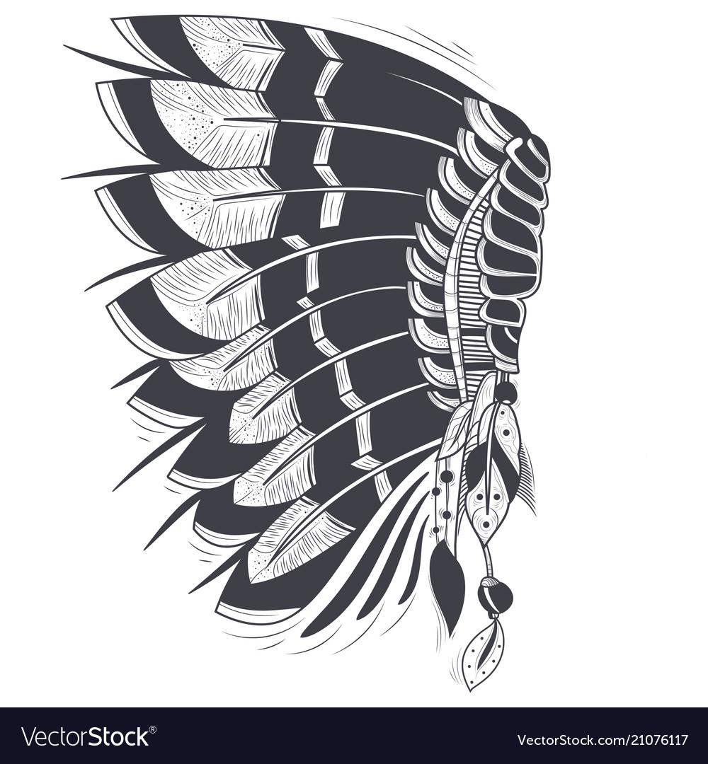 War bonnet american indians