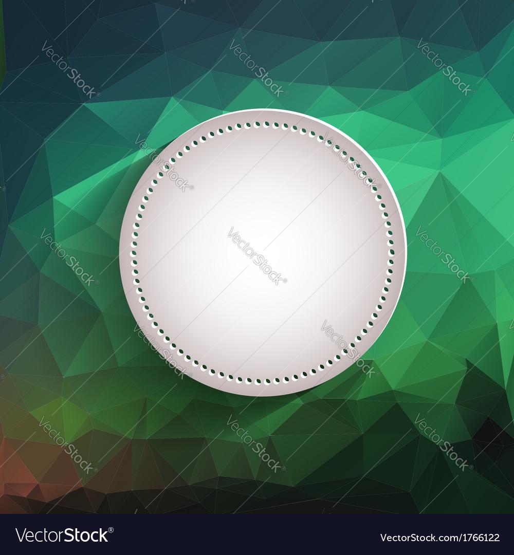 White Button - App Icon Template
