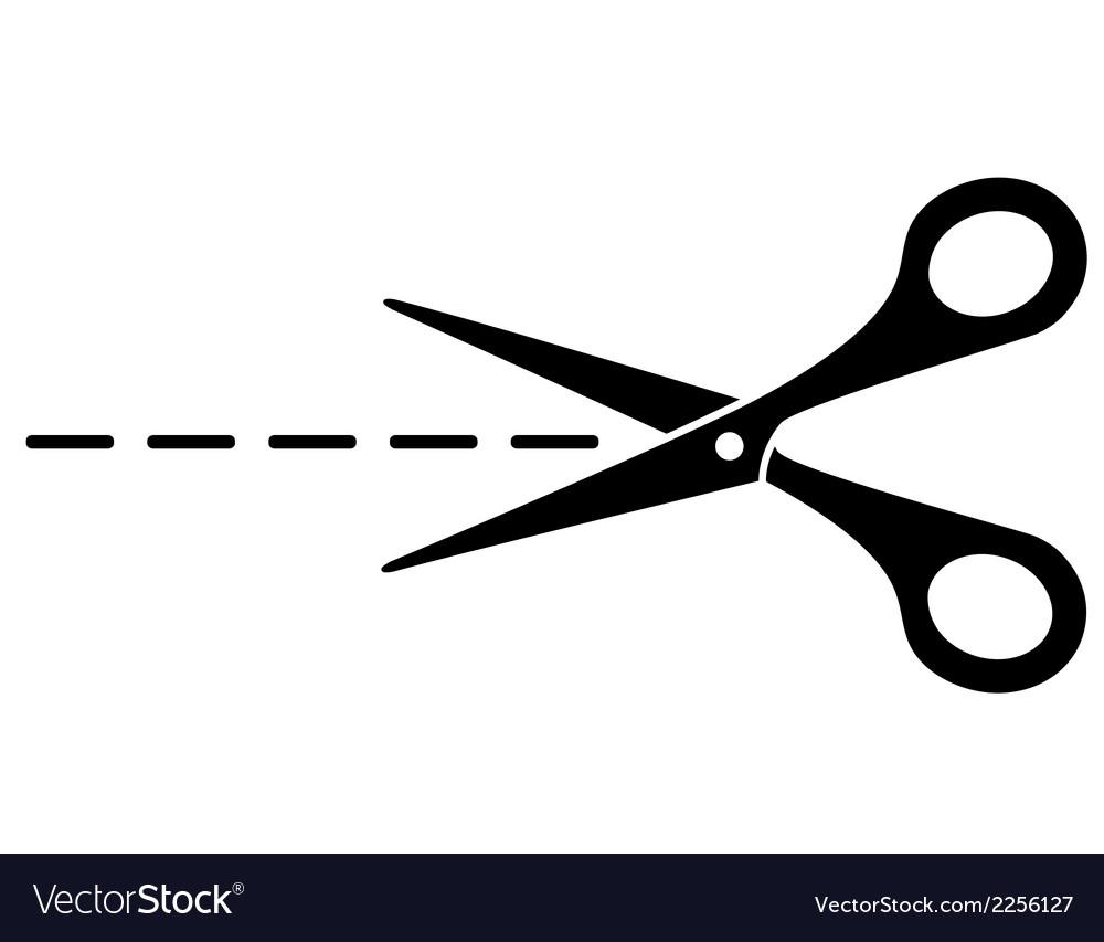 Cut lines and scissors