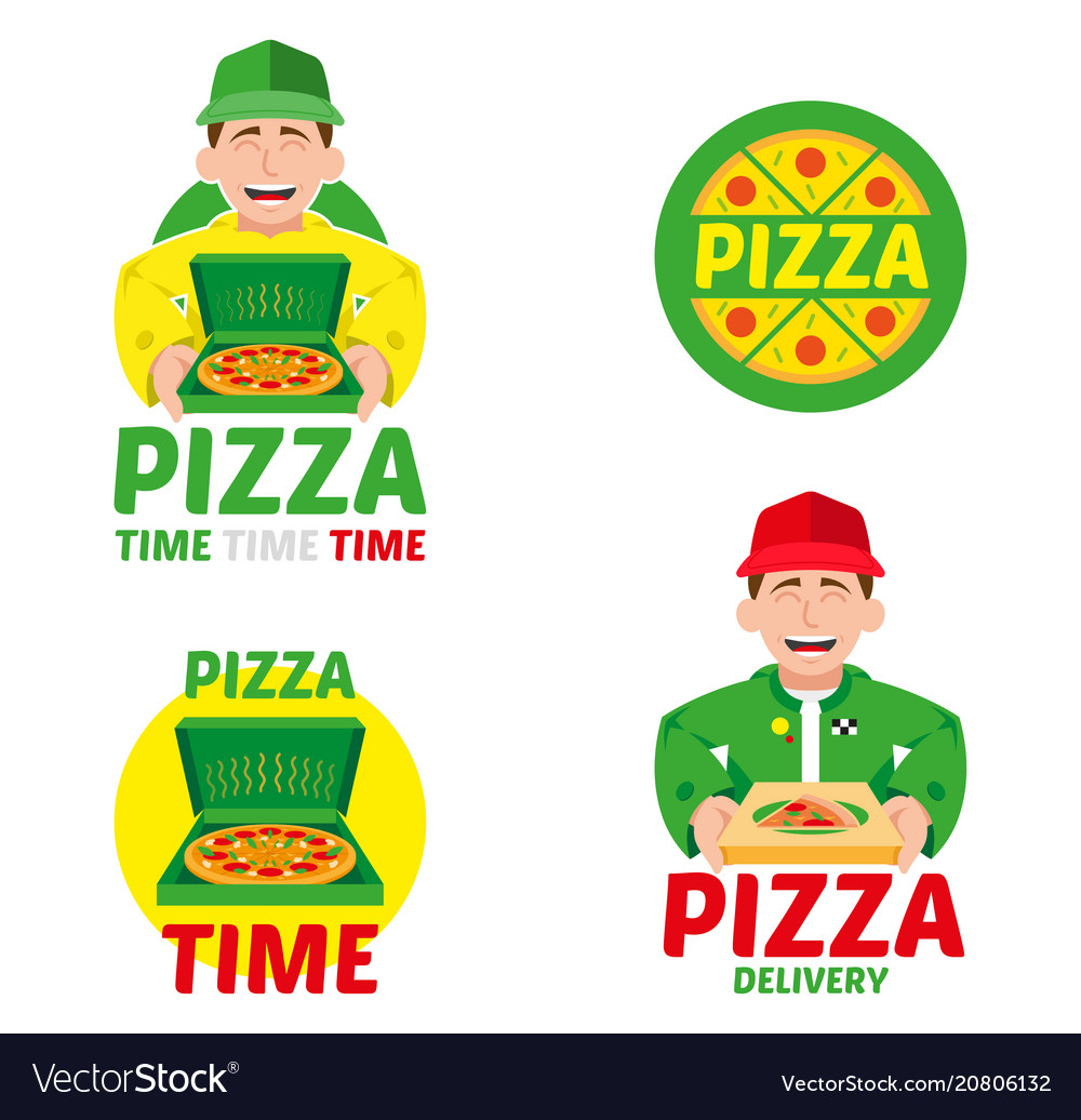 Fast pizza delivery set