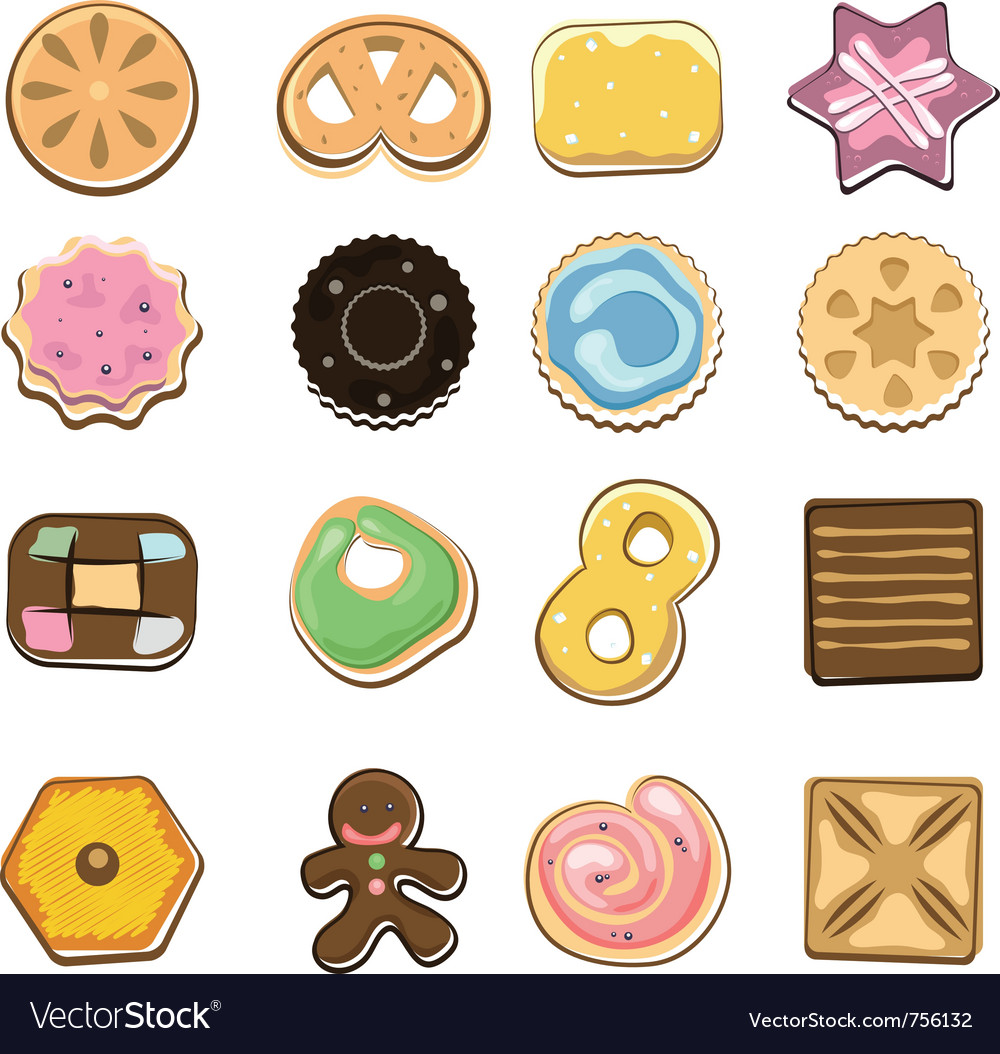 Sweet doodle cookies