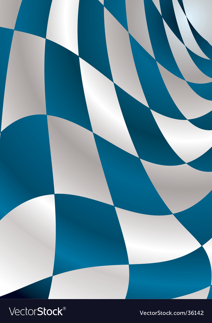 Blue checker