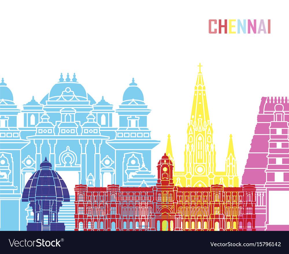 Chennai skyline pop