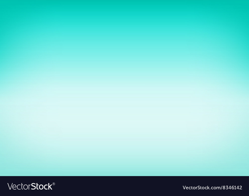 Green Mint Gradient Background vector image