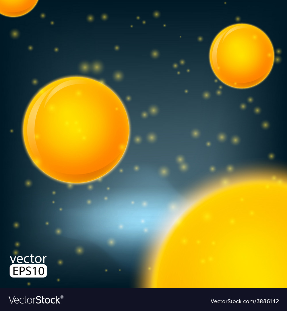 Molecules bakterie spheres abstract background