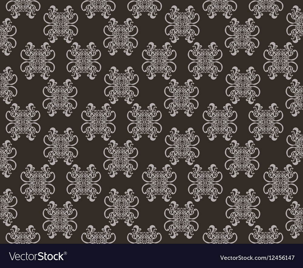 Abstract Floral ornament pattern