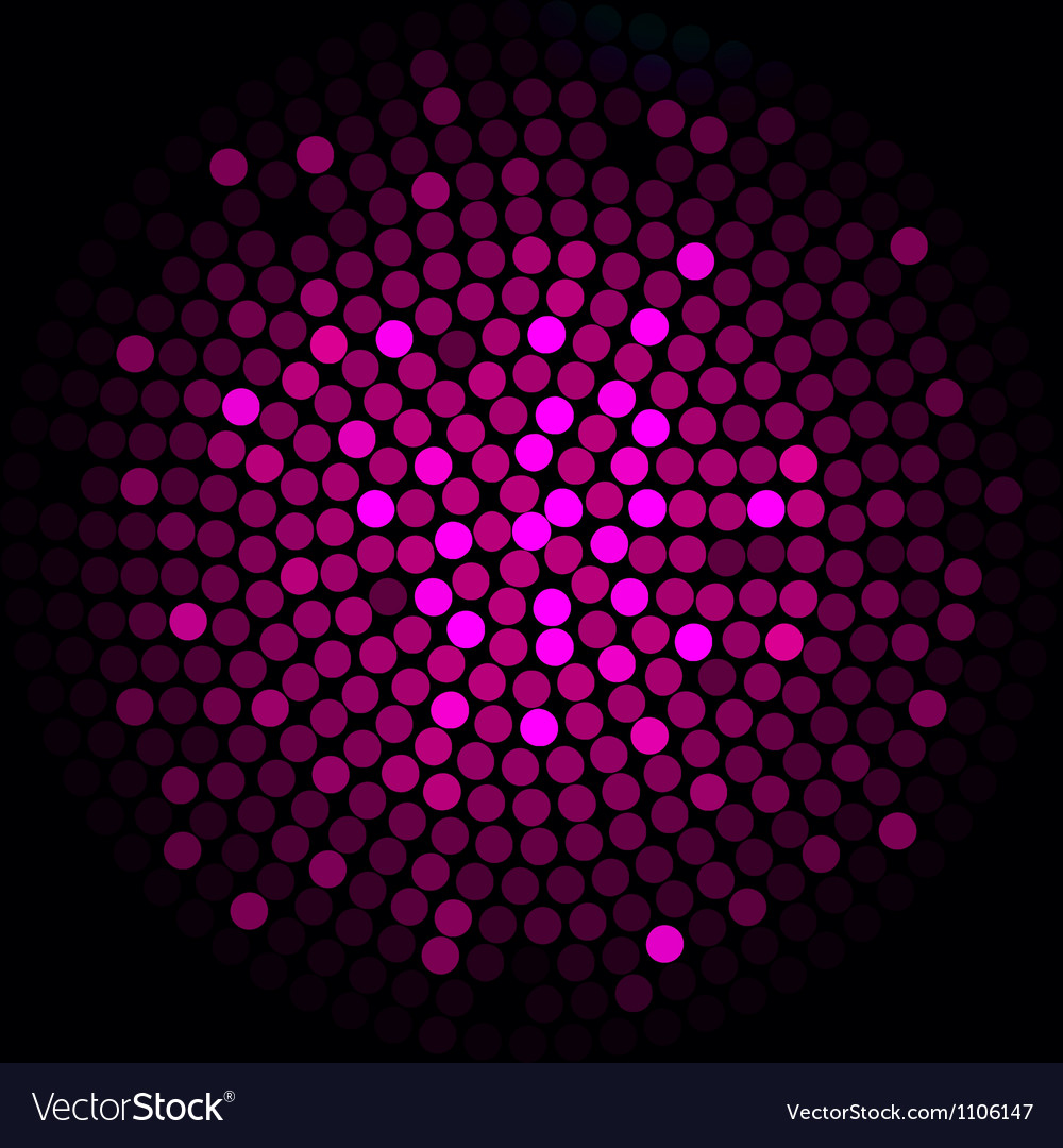Pink lights - abstract background vector image