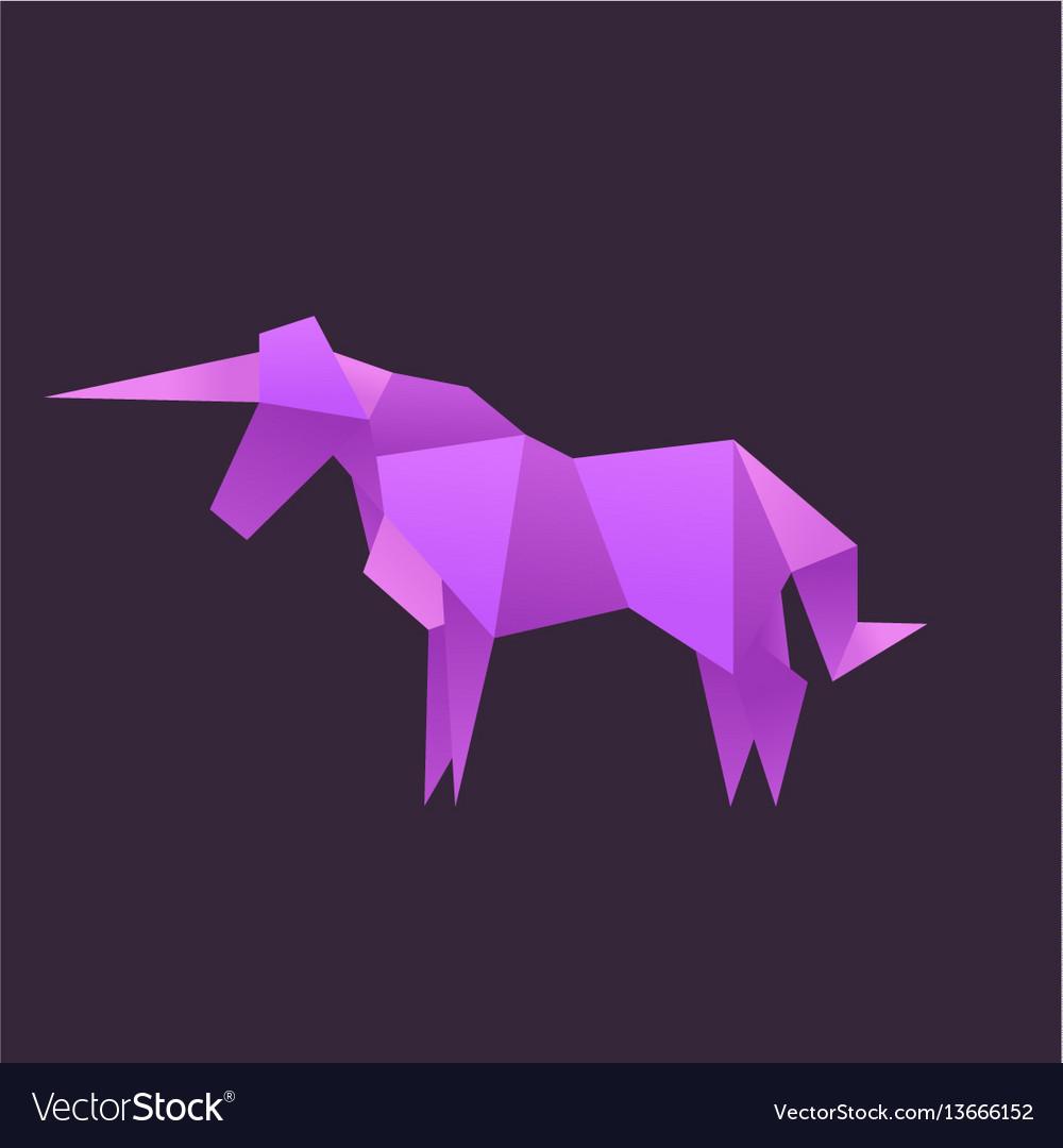 3d Origami Unicorn: Bilder, Stockfotos und Vektorgrafiken ... | 1080x1000