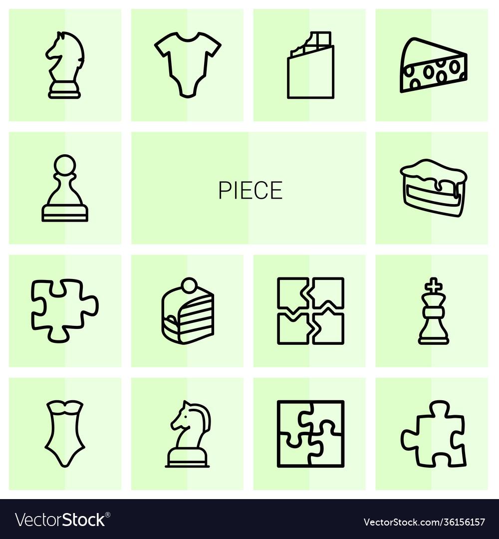 14 piece icons