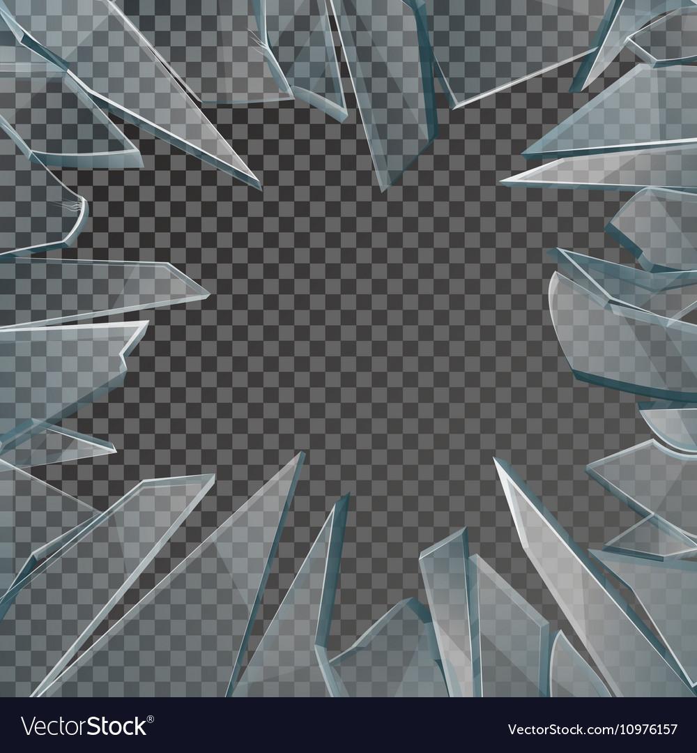 Broken Glass Cartoon